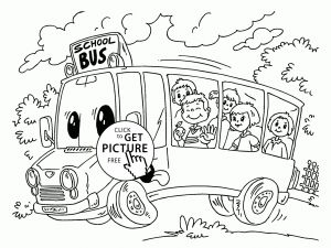 School Bus Coloring Pages Printable - Back to School Coloring Pages Free Printables Inspirational Gallery School Bus Line Drawing at Getdrawings 17s