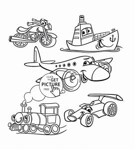 School Bus Coloring Pages Printable - School Bus Coloring Picture Free Transportation Coloring Pages 16c