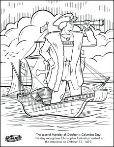 School Coloring Pages Printable - Engage Younger Kids with Columbus Day with Printable Coloring Pages and Easy to Digest Information 18e