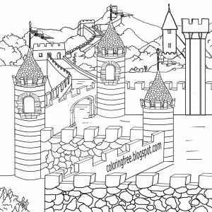 Science Coloring Pages for Middle School - Legendary British Leader King Arthur Camelot Magical Castle Me Val Coloring Pages for Teenagers 14n