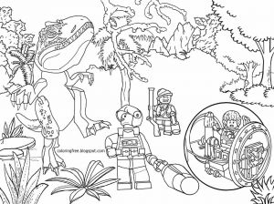 Science Coloring Pages for Middle School - Tyrannosaurus Dinosaurs Park Science Fiction Movie Lego Jurassic World Colouring Page for Youngsters 3j