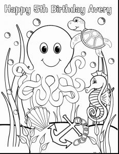 Sea Animal Coloring Pages Printable Free - Beach Coloring Pages Printable Elegant Under Sea Animals Awesome 7 Page 1k