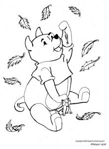 September Coloring Pages to Print - Winnie the Pooh Fall Coloring Pages 19e