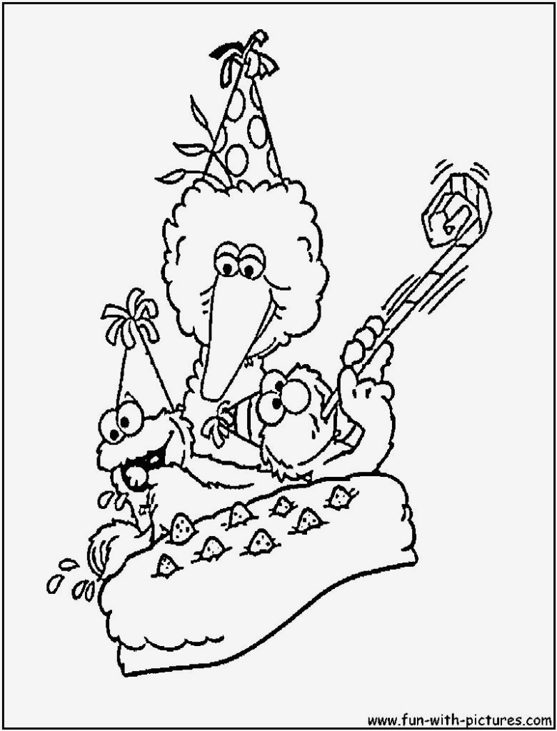 image relating to Sesame Street Printable Coloring Pages named 19 Sesame Highway Printable Coloring Internet pages Down load