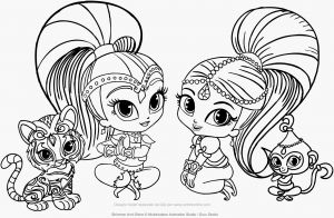 Shimmer and Shine Coloring Pages - Shimmer and Shine Printable Coloring Pages Unique Shimmer and Shine Coloring Pages Coloring Pages 8a