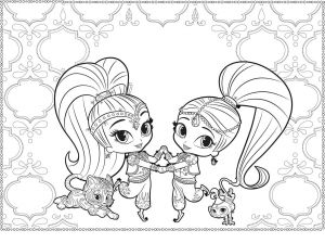 Shimmer and Shine Coloring Pages - Genie Coloring Pages Best 12 Inspirational Shimmer and Shine Printable Coloring Pages 16f