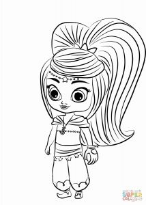 Shimmer and Shine Coloring Pages - Leah Shimmer and Shine Coloring Pages Best Printable Shimmer and Shine Coloring Pages Awesome Leah 8p