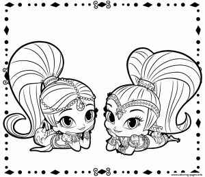 Shimmer and Shine Coloring Pages - Leah Shimmer and Shine Coloring Pages New Printable Shimmer and Shine Coloring Pages Best Nahal From 9a