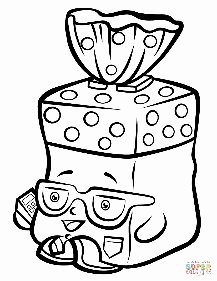 graphic regarding Free Printable Shopkins Coloring Pages identified as 28 Shopkins Coloring Internet pages Obtain - Coloring Sheets