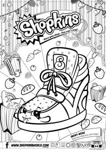 Shopkins Crayola Coloring Pages - Print Shopkins Sneaky Wedge Coloring Pages 4t