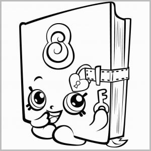 Shopkins Printable Coloring Pages - Shopkins Printable Coloring Pages Fresh Shopkins Coloring Pages Best Coloring Pages for Kids 10r