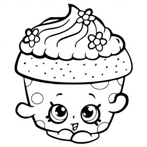 Shopkins Printable Coloring Pages - Coloring Image Detail 12r