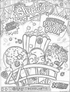 Shopkins Printable Coloring Pages - Coloring Pages Fall Printable Awesome Print Shopkins Season 3 Book Coloring Pages Kids Best Coloring 16i