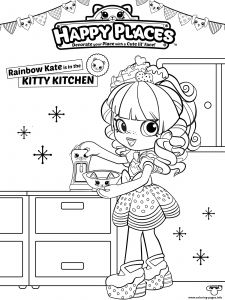 Shopkins Printable Coloring Pages - Shopkins Happy Places Coloring Pages 18i
