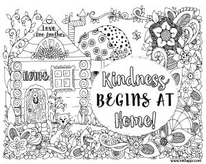 Showing Kindness Coloring Pages - Showing Kindness Coloring Pages Home 4n