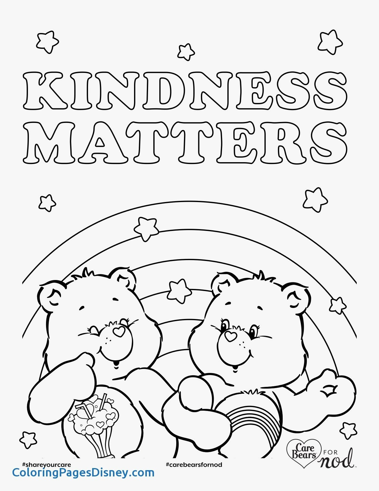 showing kindness coloring pages Download-Free Bunny Rabbit Coloring Pages Kindness Coloring Pages Printable Free Adult Lovely Awesome Od Dog 9-d