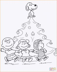 Snoopy Christmas Coloring Pages - Charlie Brown Christmas Coloring Pages Snoopy Christmas Coloring Neu Ausmalbilder Snoopy 20d
