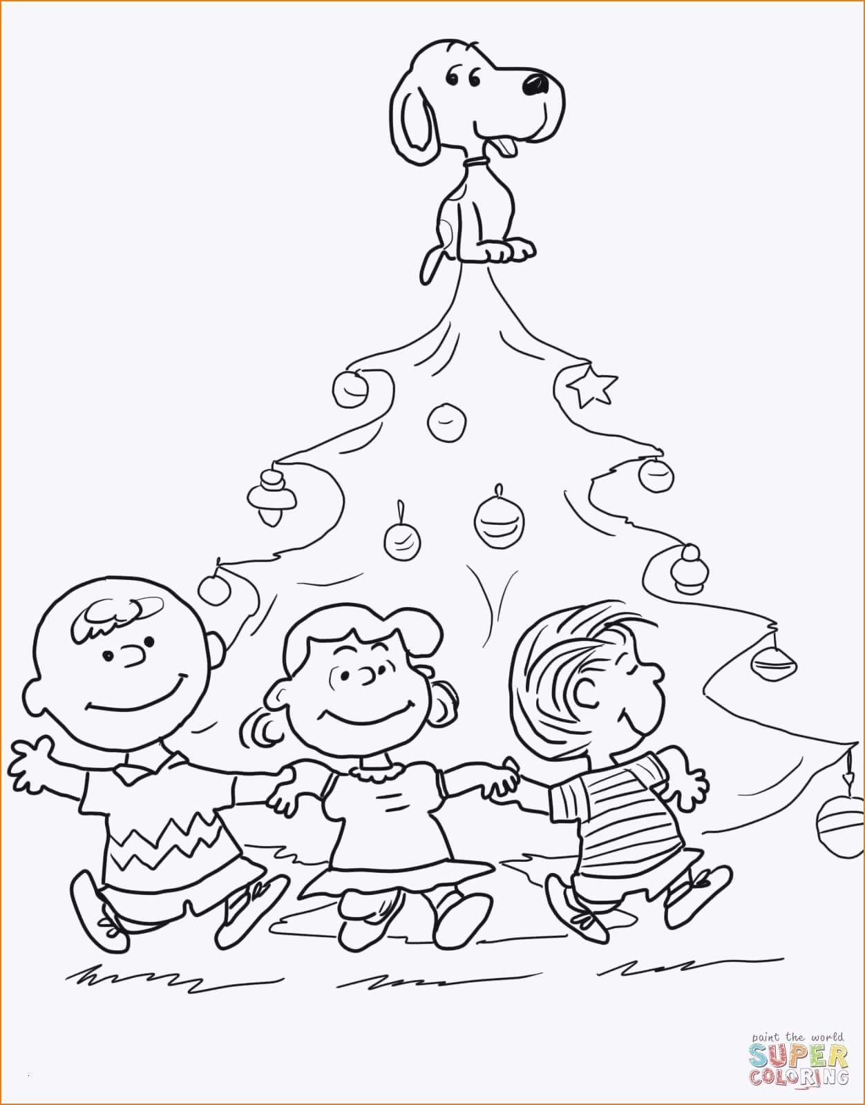 snoopy christmas coloring pages Download-Charlie Brown Christmas Coloring Pages Snoopy Christmas Coloring Neu Ausmalbilder Snoopy 8-s