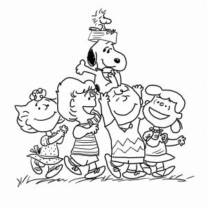 Snoopy Christmas Coloring Pages - Thanksgiving Snoopy Coloring Page Printable New Charlie Brown Christmas Coloring Pages to Print Printable Charlie 15s