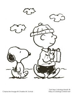 Snoopy Christmas Coloring Pages - Charlie Brown Christmas Coloring Pages More 11q