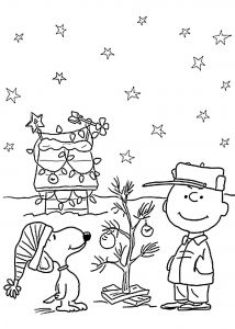Snoopy Christmas Coloring Pages - Charlie Brown Christmas Coloring Page Lovable Snoopy Christmas Neu Ausmalbilder Snoopy 13o