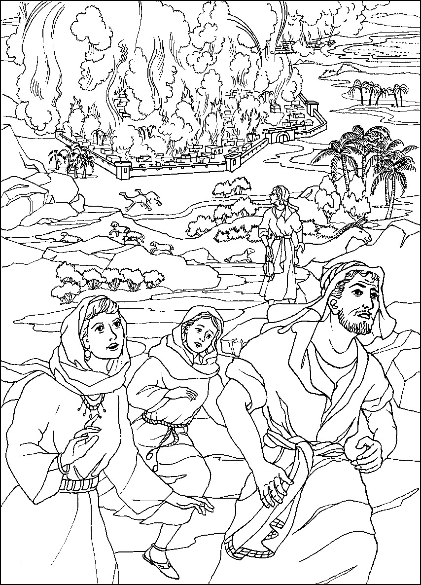 sodom and gomorrah coloring pages Download-Abraham Ausmalbilder Schön Lot S Wife Abda Bible Coloring Pages Pinterest 10-q