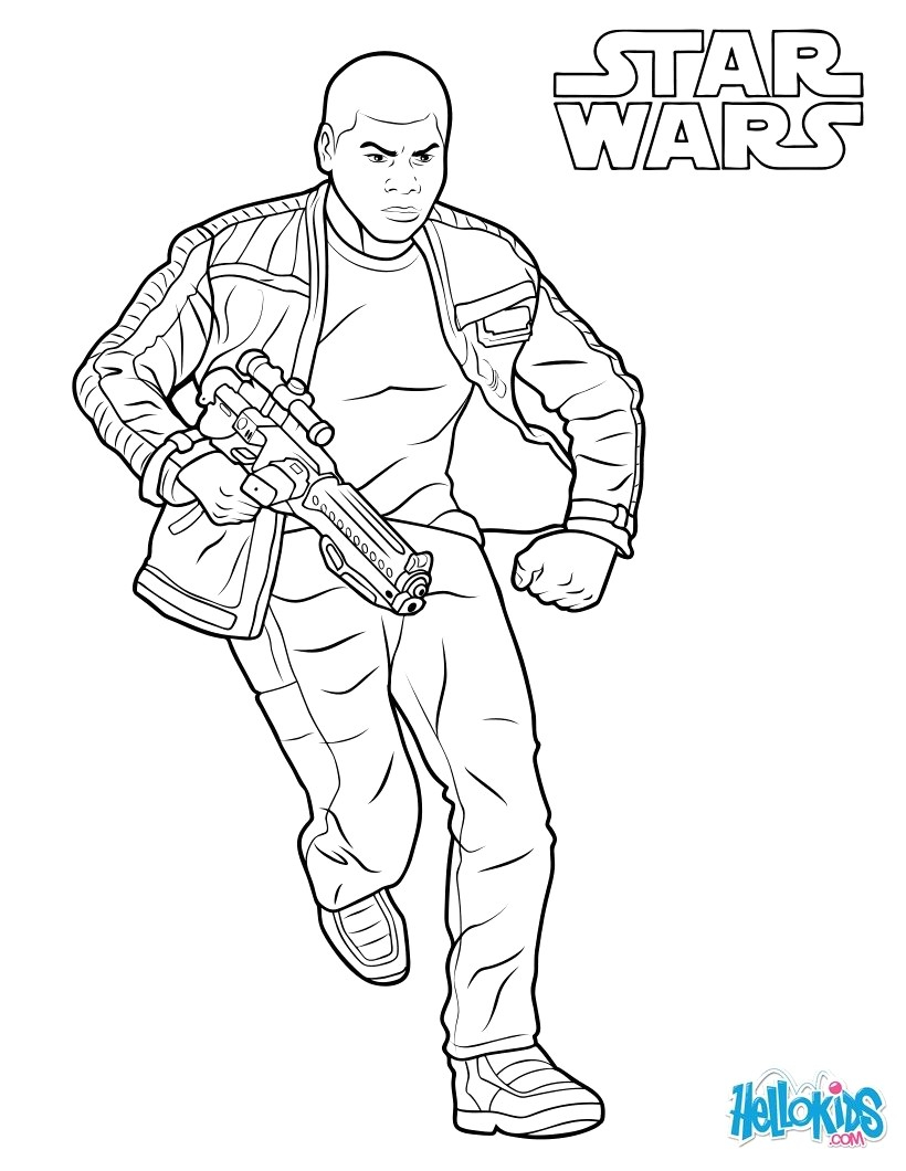 star wars the force awakens coloring pages Download-Finn The Force Awakens Coloring Page Fj5 Star Wars Pages 4-e