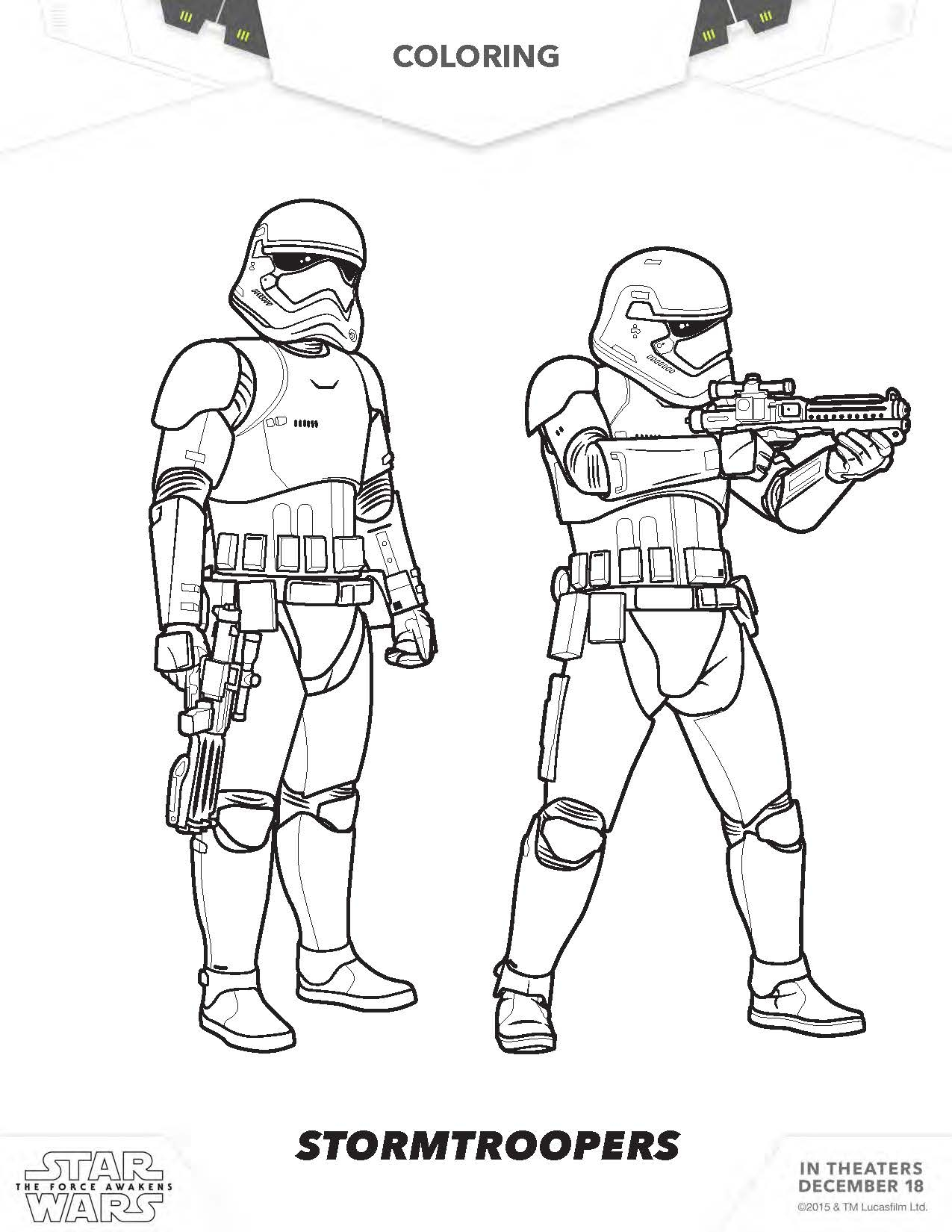 star wars the force awakens coloring pages Download-New Star Wars the force Awakens Coloring Pages Free 5 a Star Wars Force 8-d