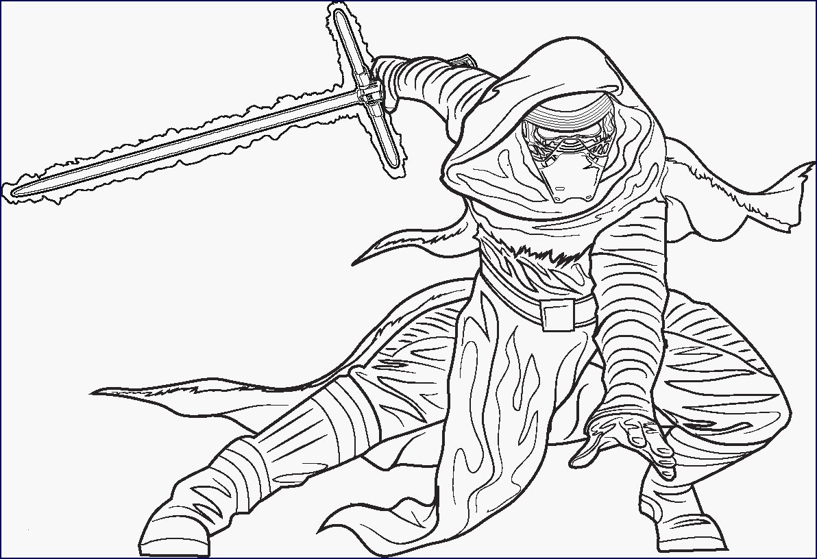 star wars the force awakens coloring pages Collection-30 Inspirational Star Wars the force Awakens Coloring Pages 20-g