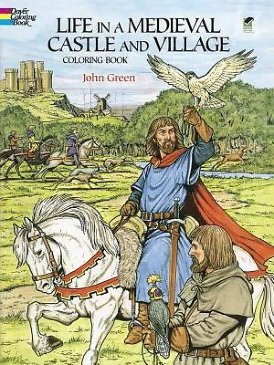 starfall coloring pages Collection-This fascinating book bines the creative fun of coloring with an exciting sense of discovery as it portrays many facets of life during the Middle Ages 20-n