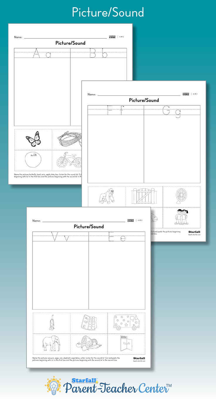 starfall coloring pages Collection-Free Download Printable Worksheets for Kindergarten Pics Match the to the Beginning Letter sound Customizable The best feature of coloring sheets 8-e