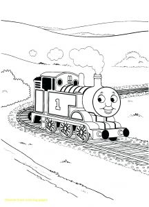 Steam Train Coloring Pages - Thomas the Tank Engine Printable Coloring Pages Coloring Pages Thomas the Train Inspirational Thomas the Tank 13b
