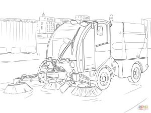 Street Fighter Coloring Pages - the Street Sweeper Coloring Pages 1t
