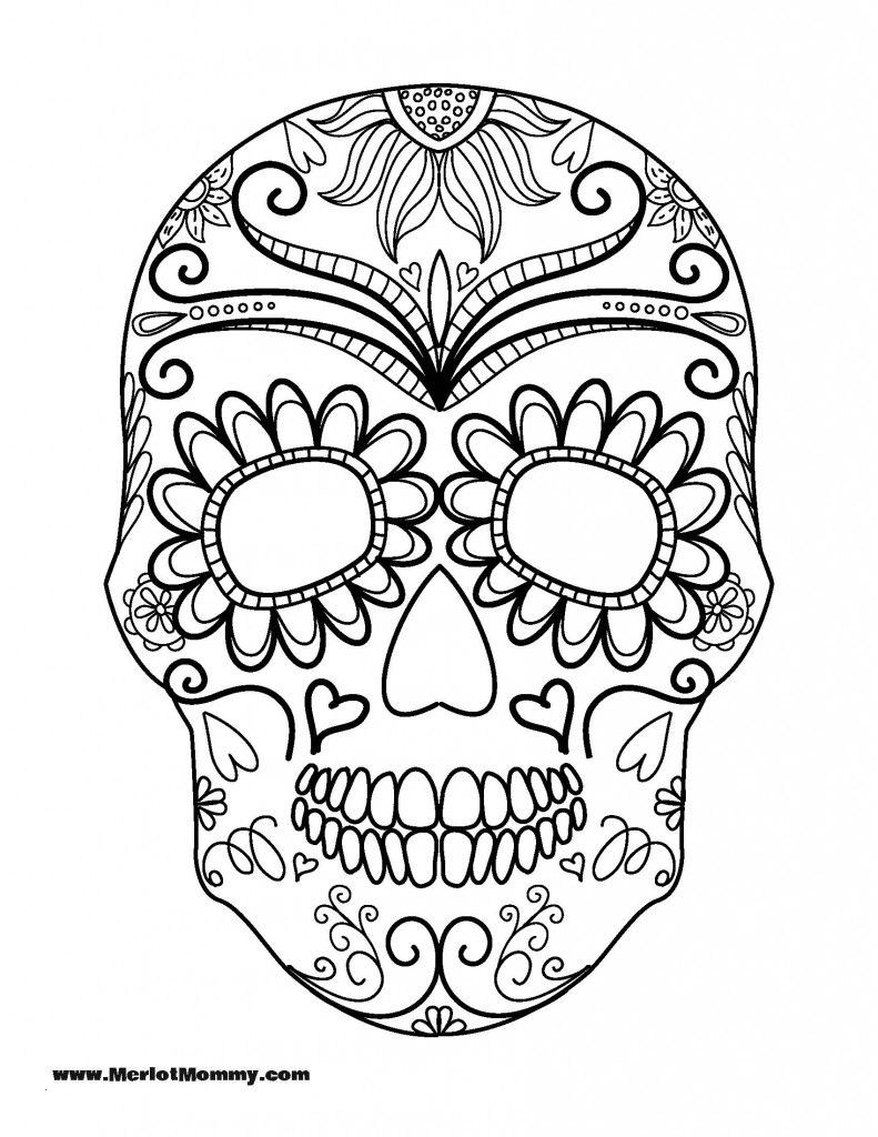 25 Sugar Skulls Coloring Pages Free Collection - Coloring Sheets