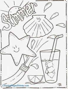 Summer Preschool Coloring Pages - Free Summer Coloring Pages for Preschoolers Coloring Pages Summer Unique Summertime Coloring Sheets 3m