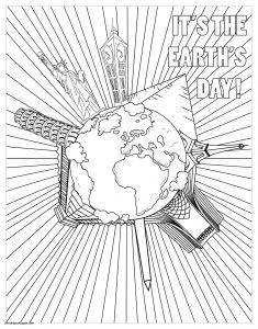 Summer Preschool Coloring Pages - Summer Coloring Page Awesome Earth Day Coloring Pages Fresh I Pinimg originals 00 0d Ad 13d