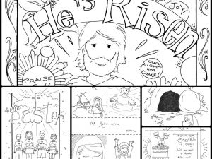 Sunday School Easter Coloring Pages Free - Pages Religious New Pioneering Religious Easter Free Easter Coloring for Sunday School Perfect 16 Fresh Jesus Easter Coloring 14j