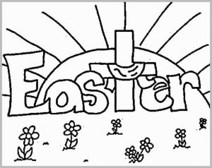 Sunday School Easter Coloring Pages Free - Free Christian Coloring Pages Great Easter Coloring Pages Religious Printable Coloring Image 93 Marvelous Graph 17o