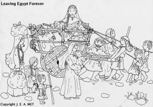 Sunday School Lesson Coloring Pages - the Bible israelites Leaving Egypt Coloring Pages 16e