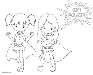 Super Hero Printable Coloring Pages - Female Coloring Pages Free Printable Superhero Coloring Pages for Kids Female Superhero 11s