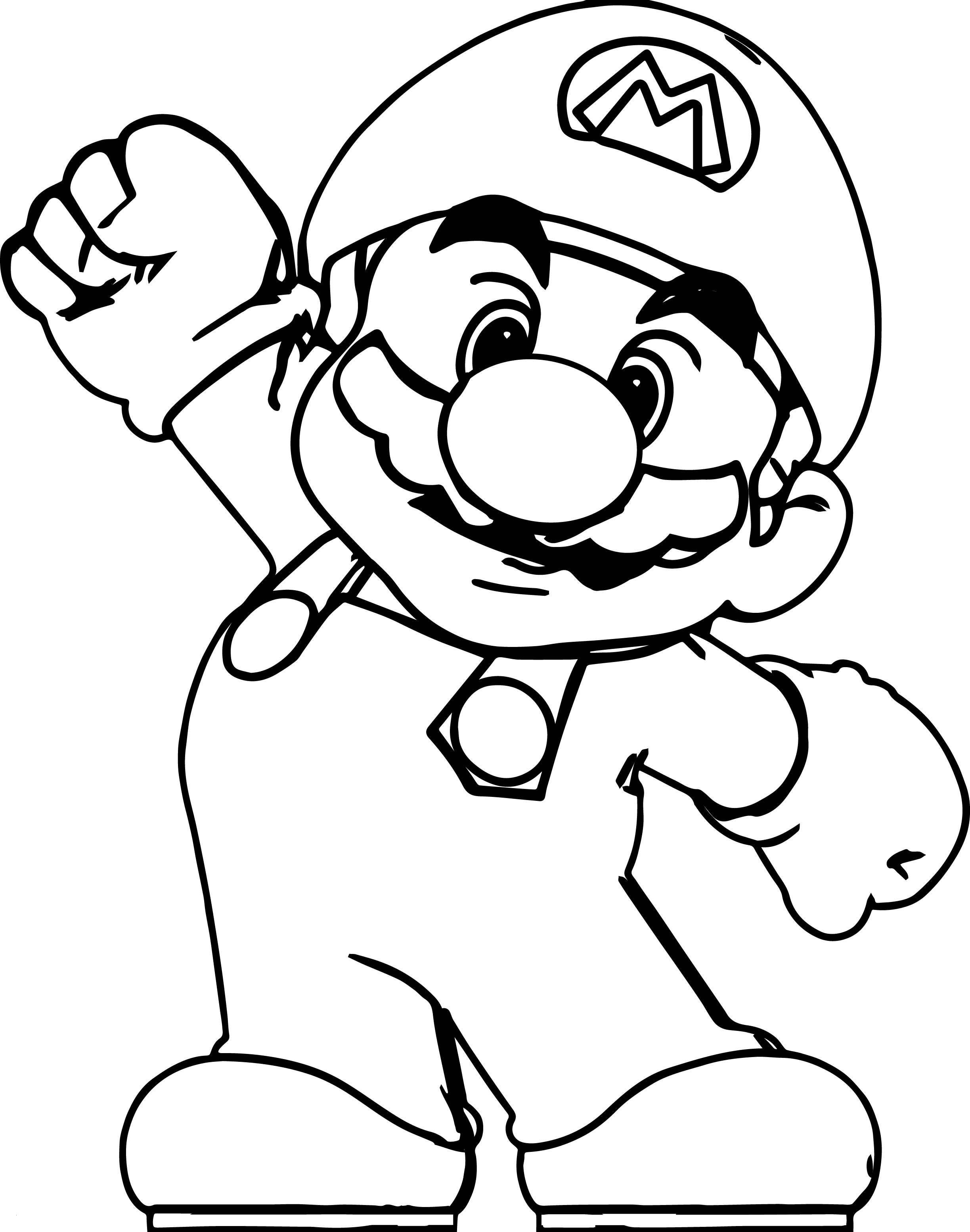24 Super Mario Coloring Pages Collection - Coloring Sheets