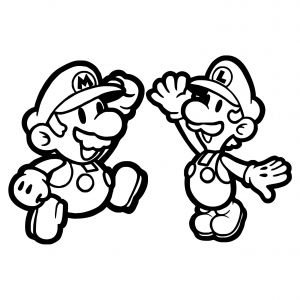 Super Smash Bros Coloring Pages - Paper Mario Coloring Pages Unique Paper Mario Coloring Pages Beautiful Mario Coloring O D Colouring Paper 3q