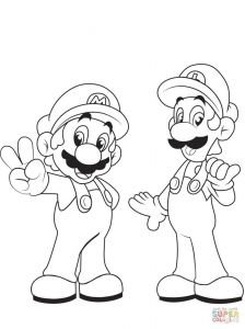 Super Smash Bros Coloring Pages - Paper Mario and Luigi Coloring Pages Best Mario Maker Coloring Pages Thanhhoacar Paper Mario 19h