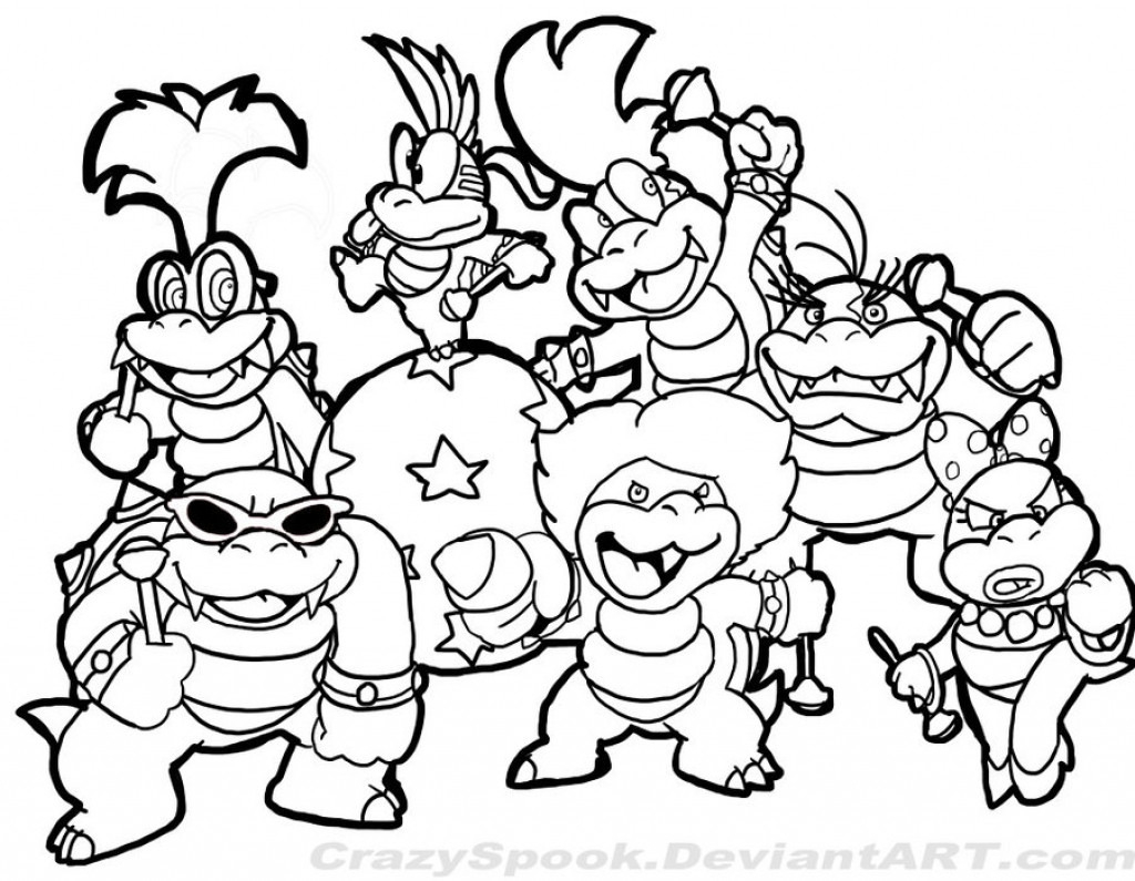 super smash bros coloring pages Collection-Mario and Luigi Coloring Pages Unique Gemütlich Ausmalbilder Super 5-m