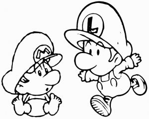 Super Smash Bros Coloring Pages - Super Mario Malvorlagen Genial Baby Mario Ausmalbilder Genial Beautiful Super Mario Bros Coloring 15f