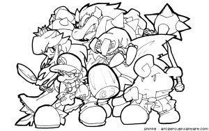 Super Smash Bros Coloring Pages - Super Smash Bros Brawl Coloring Pages Super Smash Bros Coloring 8p
