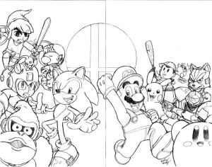 Super Smash Bros Coloring Pages - Discover Ideas About Pop Culture Art Super Smash Bros Coloring Pages 9j