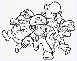 Super Smash Bros Coloring Pages - Ausmalbilder Sing Inspirierend Awesome Mario Mario Bros Mario Bros Coloring Pages Printable 5g