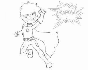 Superhero Printable Coloring Pages - Superhero Printable Coloring Pages Lovely Superheroes Easy to Draw Spiderman Coloring Pages Luxury 0 0d 12a
