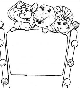 Tanzania Coloring Pages - Ferris Wheel Coloring Pages Exclusive Barney Coloring Pages Bj and Baby Bop at the Ferris 19b